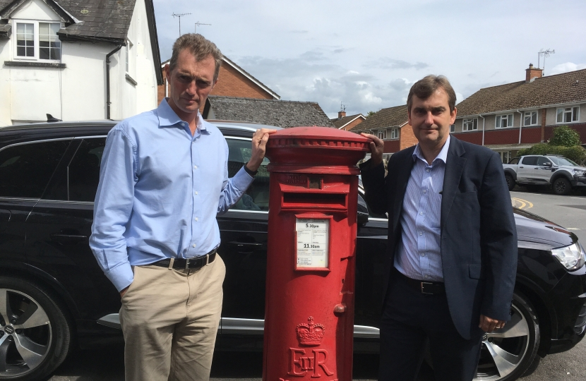 Monmouth MP David Davies & AM Nick Ramsay met with the Post Office to find a long term solution for Usk.