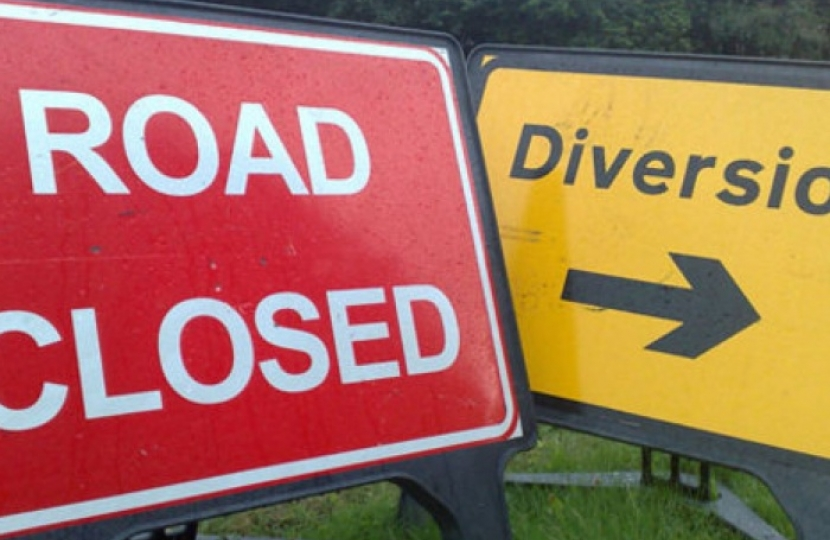 The A465 will be closed over the weekend between Gilwern and Brynmawr
