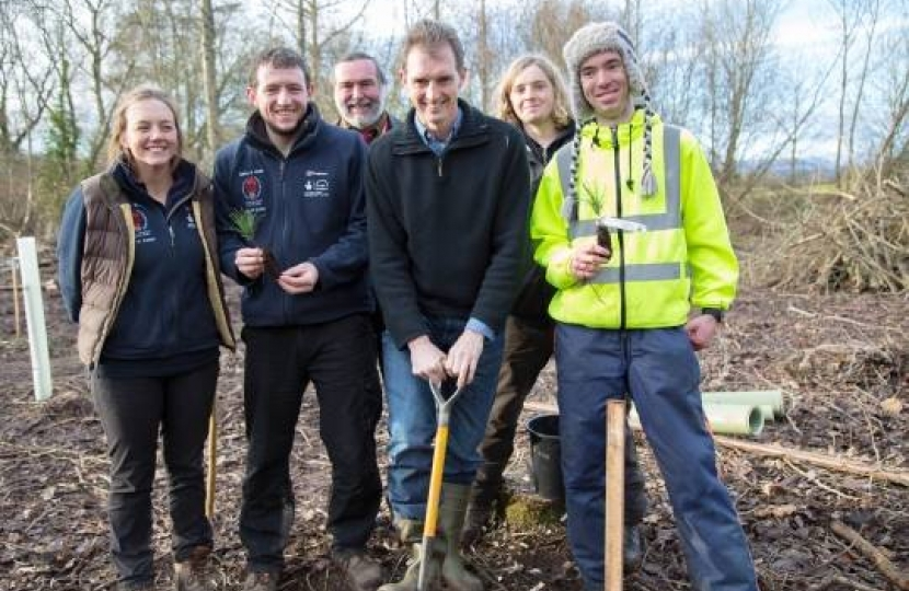 Coleg Gwent: future foresters at the forefront of research
