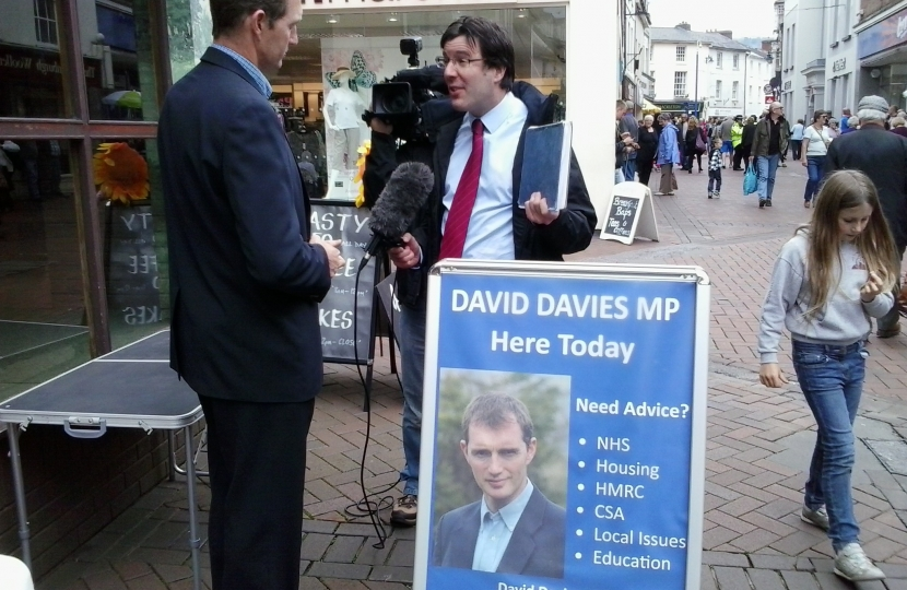 Holding regular street advice surgeries