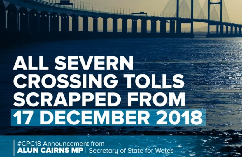 Severn tolls scrapped
